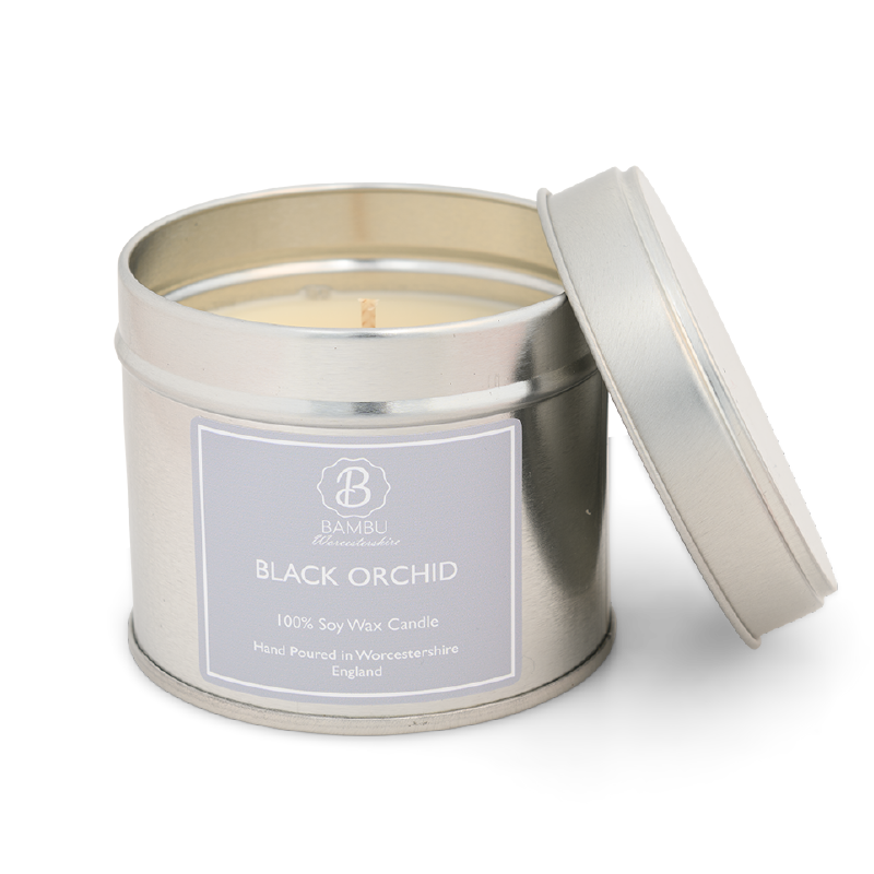 Product image for Bambu Candles Black Orchid (Tom Ford Inspired) Soy Candle