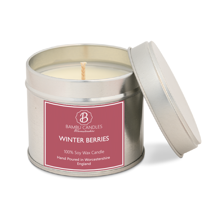 Product image for Bambu Candles Winter Berries Soy Candle
