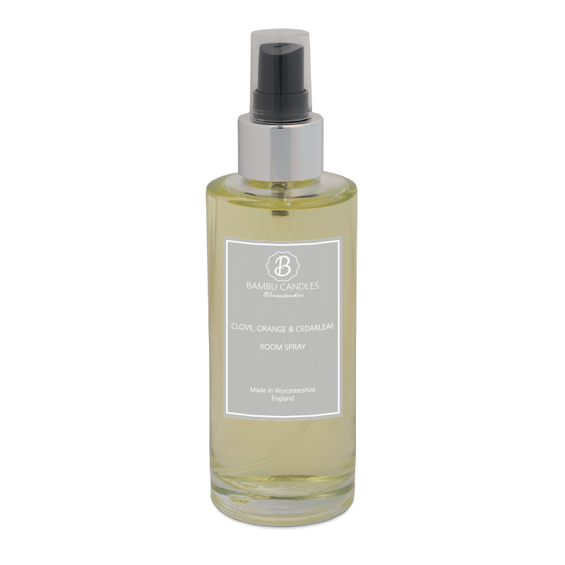 Product image for Bambu Candles Clove Orange & Cedarleaf Luxury Room Spray