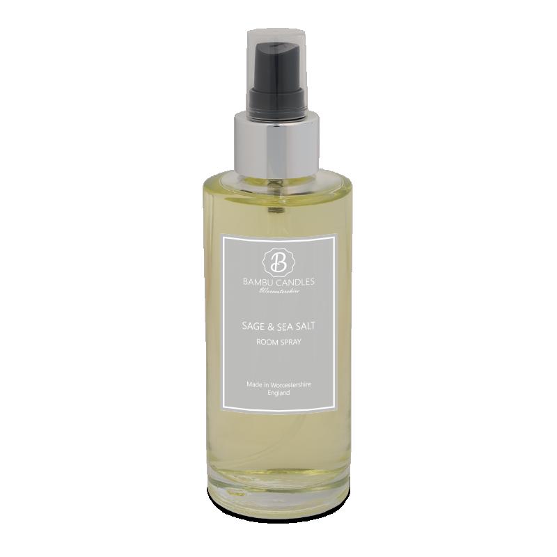 Product image for Bambu Candles Sage & Sea Salt Luxury Room Spray 150ml