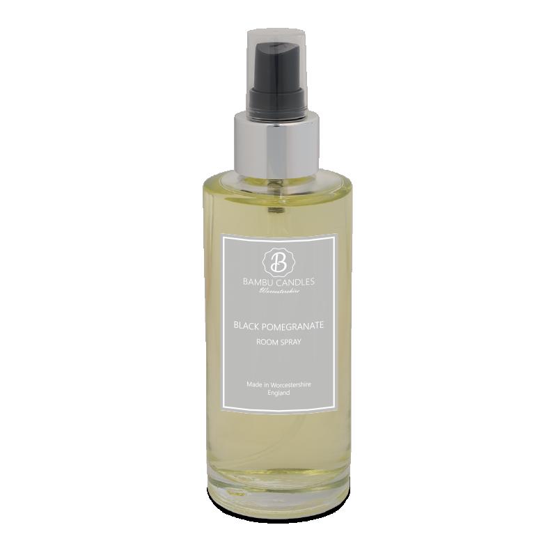 Product image for Bambu Candles Black Pomegranate Luxury Room Spray 150ml