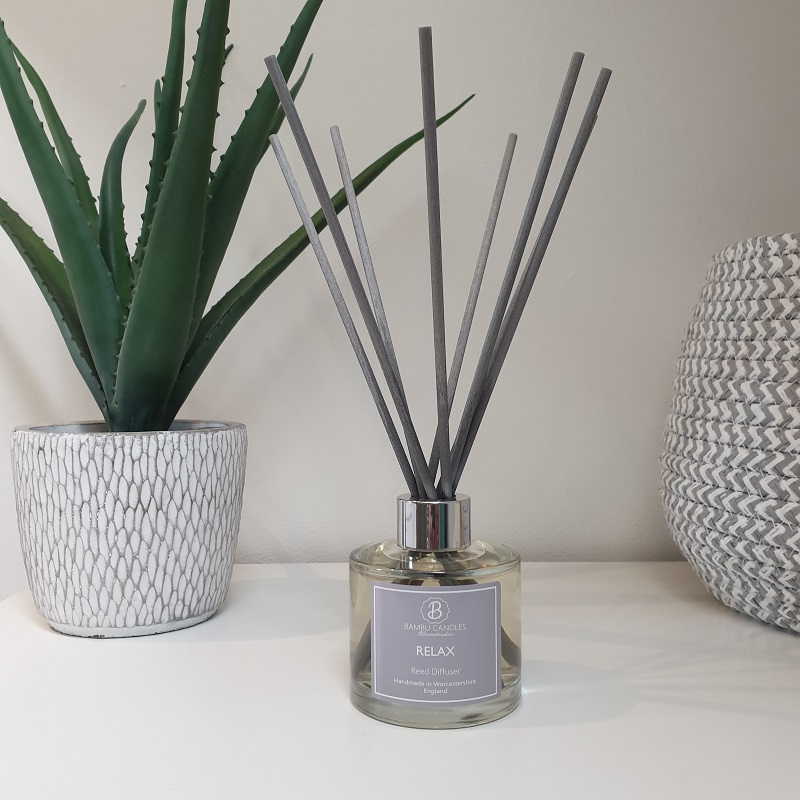 Product image for Bambu Candles Relax Reed Diffuser