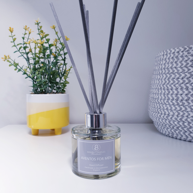 Product image for Bambu Candles Aventos for Men Aftershave Inspired Reed Diffuser