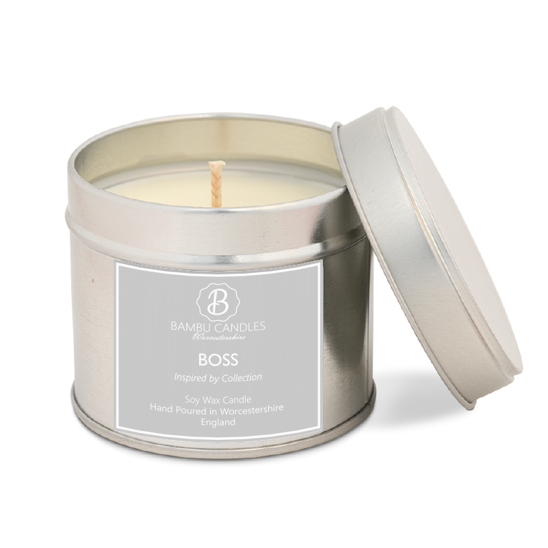 Product image for Bambu Candles Boss Aftershave Inspired Soy Candle