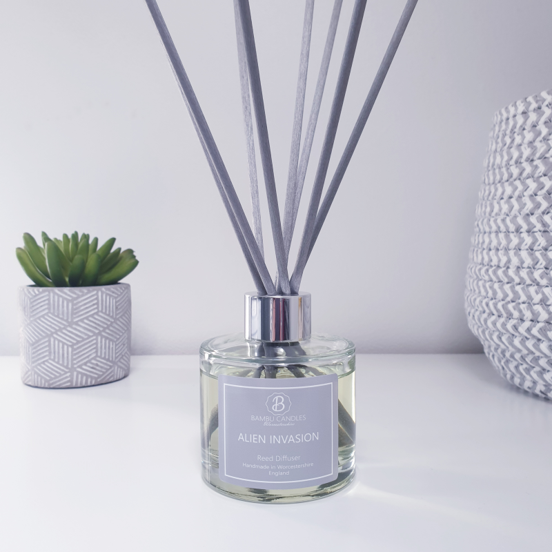 Product image for Bambu Candles Alien Invasion Perfume Inspired Reed Diffuser