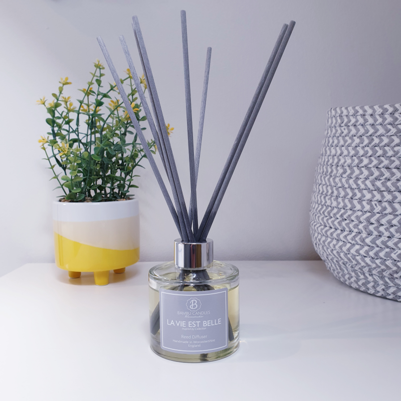 Product image for Bambu Candles La Vie Est Belle Perfume Inspired Reed Diffuser