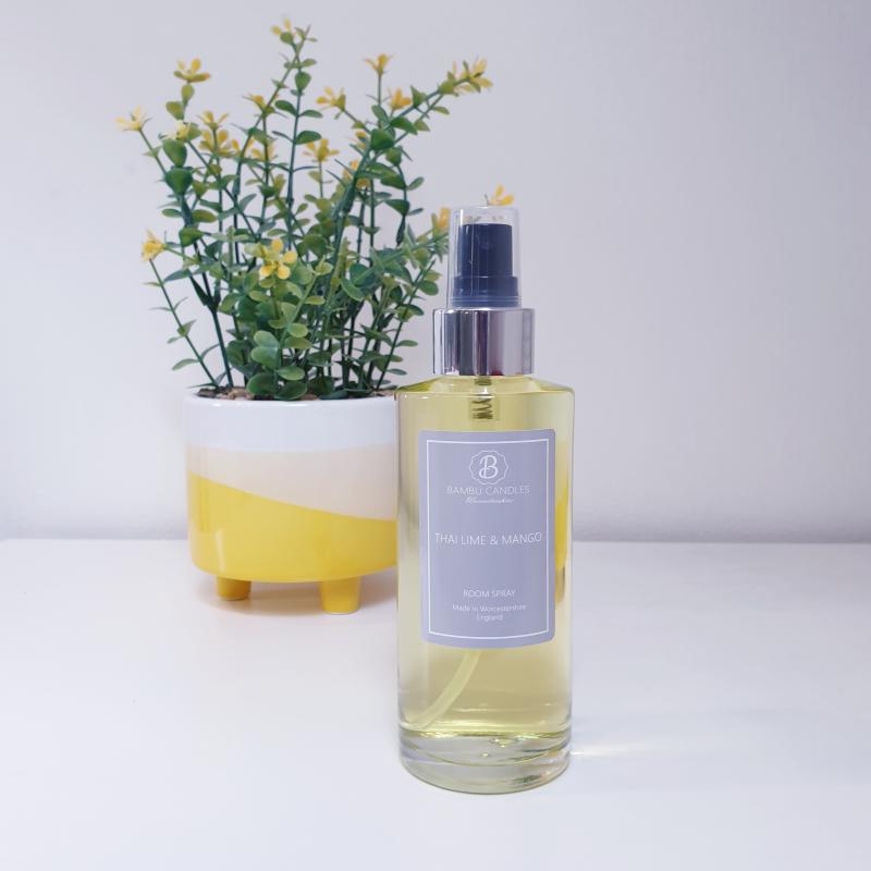 Product image for Bambu Candles Thai Lime & Mango Luxury Room Spray 150ml