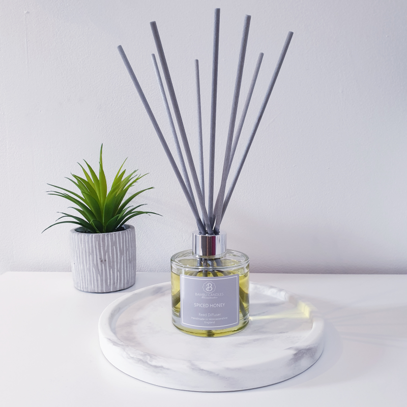 Product image for Bambu Candles Spiced Honey Reed Diffuser
