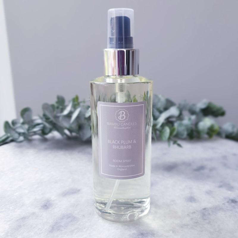 Product image for Bambu Candles Black Plum & Rhubarb Luxury Room Spray 150ml
