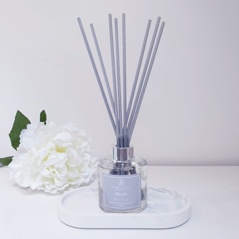 Product image for Bambu Candles Relax Luxury Reed Diffuser