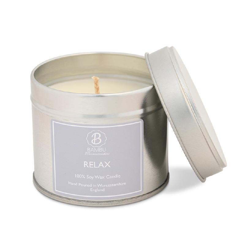 Product image for Bambu Candles Relax Spa Soy Candle