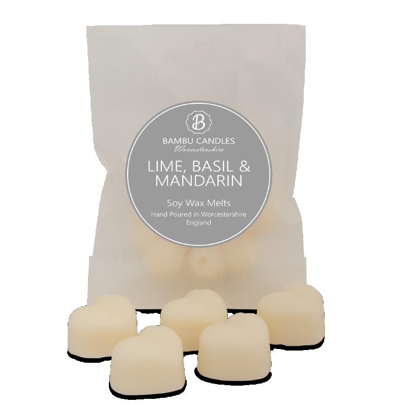 Product image for Bambu Candles Lime Basil & Mandarin Soy Wax Melts