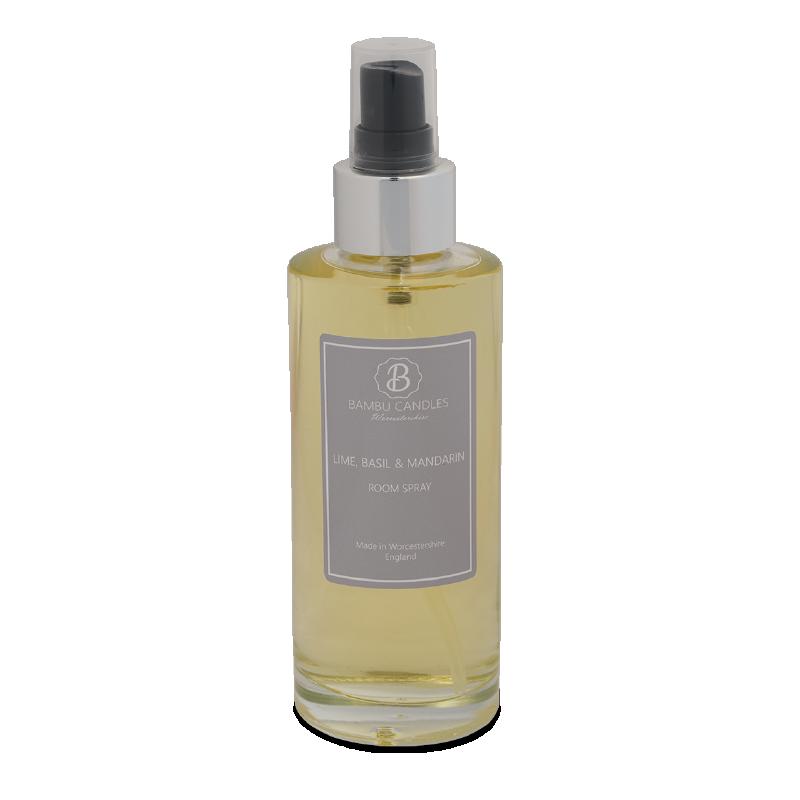 Product image for Bambu Candles Lime Basil & Mandarin Luxury Room Spray 150ml